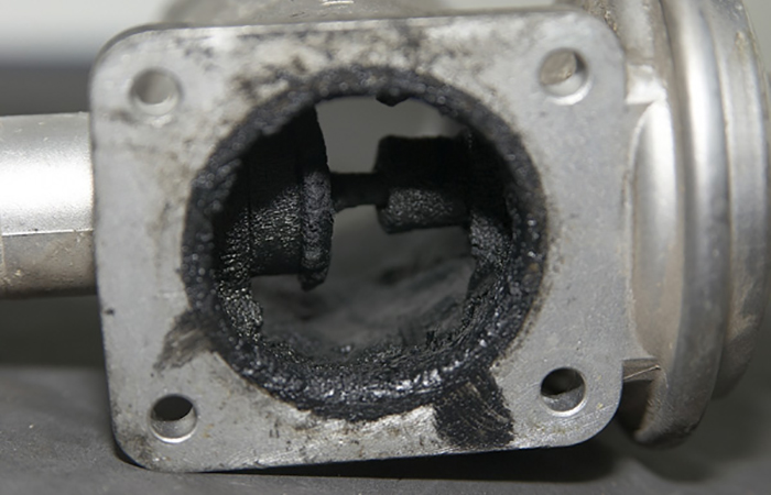 Появление нагара на клапане ЕГР