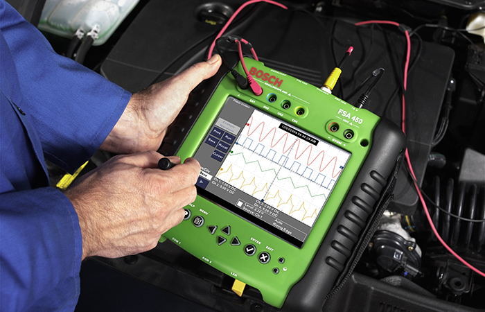 Диагностика двигателя мотортестером