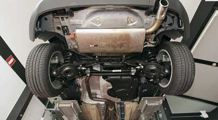 Замена сайлентблоков задней подвески на Форд Фокус 2